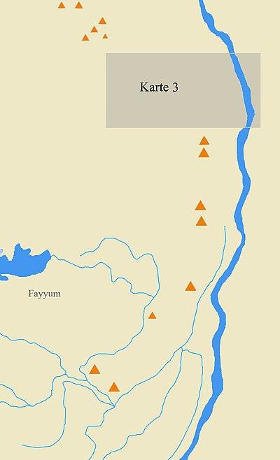Карта окрестностей Мемфиса