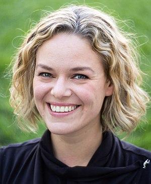 Katherine Maher in 2016