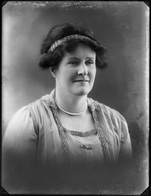 John Simon, 1st Viscount Simon - Dame Kathleen Simon, Viscountess Simon (17 February 1920)