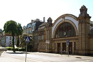 Katowice historic train station
