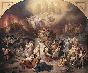 Mark 13 - Titus Destroying Jerusalem by Wilhelm von Kaulbach