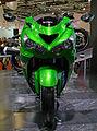 Kawasaki Ninja ZX-14R front-1 2011 Tokyo Motor Show.jpg
