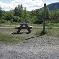 Kebnekaise sign in Nikkaluokta.JPG