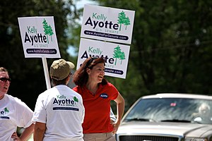 English: Kelly Ayotte in Amherst, New Hampshir...