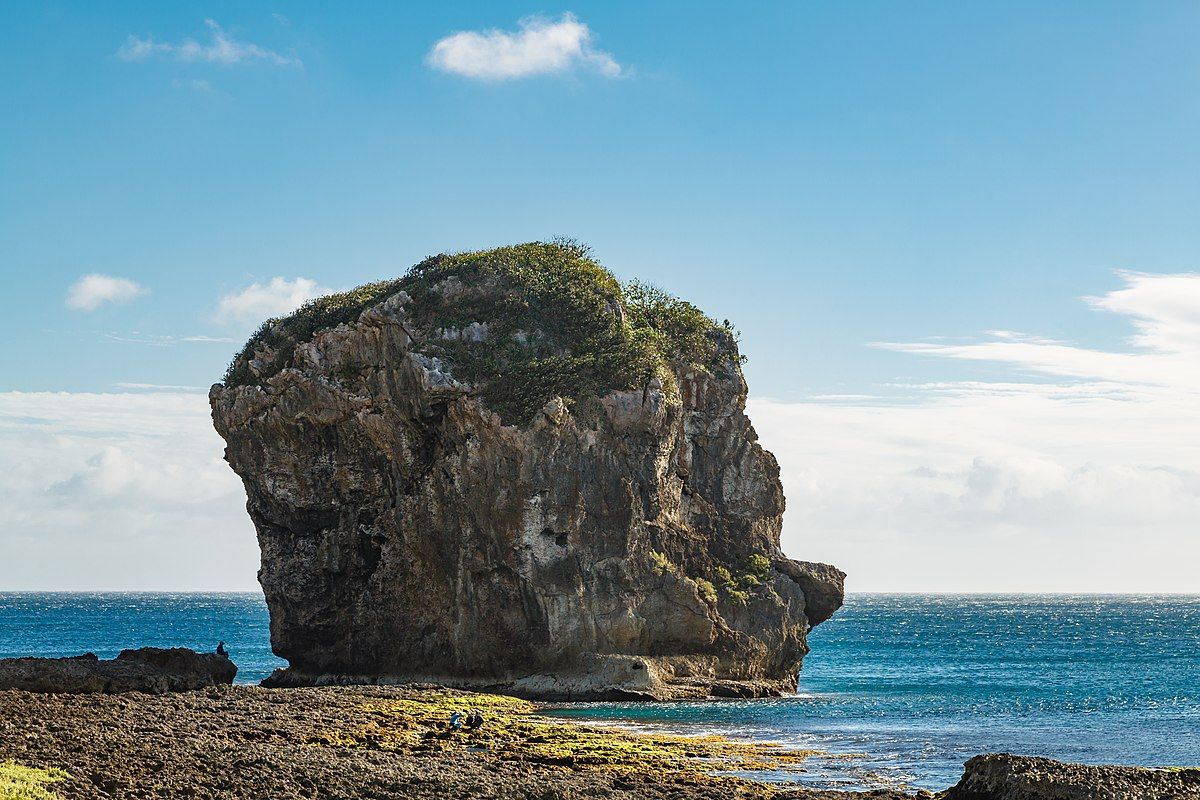 sail rock  taiwan