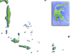 Takabonerate is located in Kepulauan Selayar