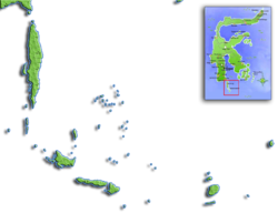Pulau Jampea is located in Kepulauan Selayar