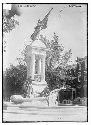 Francis Scott Key Monument - Image: Key 5643438604 2072b 935c 8 o