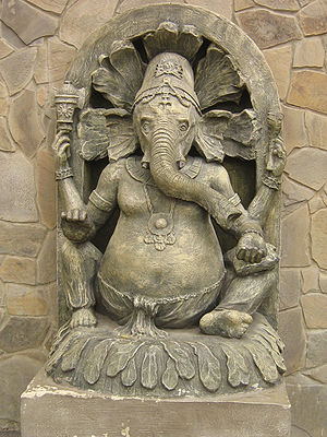Lord Ganesha in Kharkiv Zoo