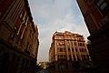 Kiev sightseens — OschadBank, Hospitalna street.jpg