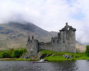 Earl of Breadalbane and Holland - Kilchurn Castle, seat of the Earl of Breadalbane