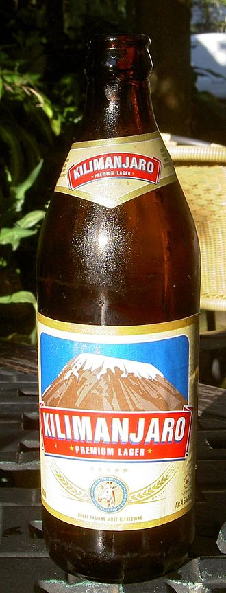 Tanzania Breweries Limited - Bottle of Kilimanjaro Premium Lager