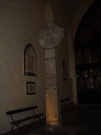 Killaloe Cathedral - Image: Killaloe Cathedral High Cross