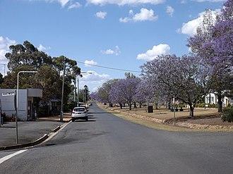 Goombungee, Queensland - Kingsthorpe Haden Road, 2014