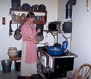 Kitchen rural 1918