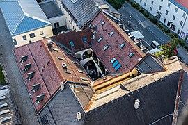 Klagenfurt Innere Stadt Pfarrhofgasse 2 Zum Augustin Luft-Ansicht 03082017 0289.jpg
