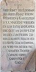 Klagenfurt Wölfnitz Filialkirche St Peter am Bichl Grabstein Franz Joseph Freiherr von Kaiserstein 0310201 7851.jpg