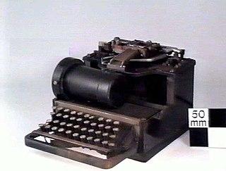 Kleinschmidt keyboard perforator