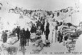 Klondikers waiting to cross the border, Chilkoot Pass (J6176).jpg
