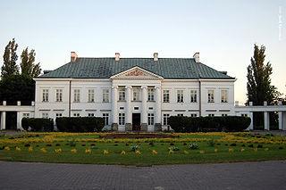 Kock Place in Lublin Voivodeship, Poland