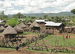 alt=Description de l'image Konso village 01.jpg.