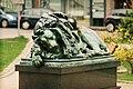 Kopia Lwa Śpiącego, Skwer Valenciennes.jpg