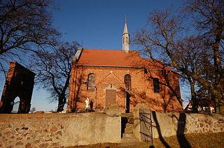 Duszno Village in Greater Poland Voivodeship, Poland