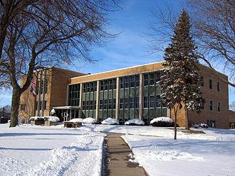 Kossuth County, Iowa - Image: Kossuth County IA Courthouse