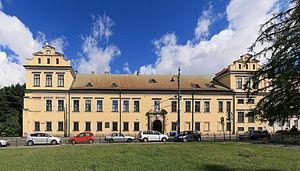 Bishop's Palace, Kraków - Main façade as seen from ul. Franciszkańska