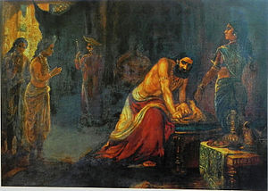 Kurukshetra War - Krishna Pleads with Dhritarashtra to Avoid War