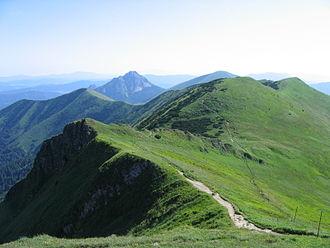 Malá Fatra - The main ridge of the Kriváň part of Malá Fatra