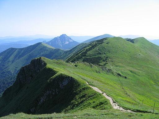 Krivanska mala fatra hreben