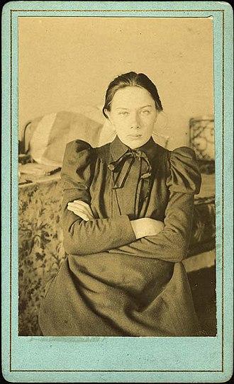 Nadezhda Krupskaya - Nadezhda Krupskaya, c. 1890s