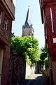 Kugelgasse Marburg, Turm Lutherische Pfarrkirche.jpg