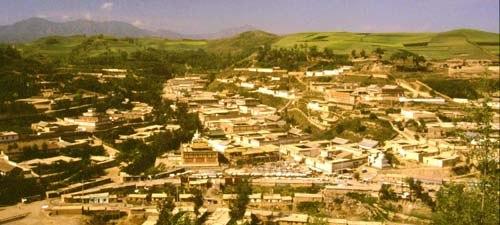 Kumbum Monastery in Amdo
