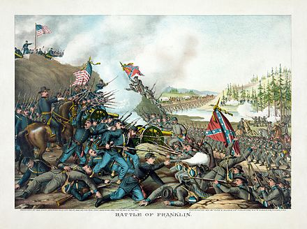 The Battle of Franklin, November 30, 1864 Kurz and Allison - Battle of Franklin, November 30, 1864.jpg