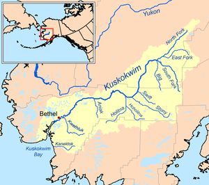 Kuskokwim River - Wikipedia on rio grande map usa, puerto rico map usa, pacific northwest map usa, rocky mountains map usa, bering sea map usa, sierra nevada map usa, great basin map usa, north america map usa, great plains map usa, pikes peak map of usa, lake superior map usa, cascade range map usa, new hampshire map usa, alaska map usa, lake erie map usa, appalachian mountains map usa, brooks range map usa, canada map usa, cuba map usa, new orleans on map of usa,
