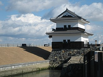 Matsudaira clan - Rebuilt turret of Kuwana Castle