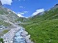 L'Isère près de sa source en été (2019).JPG