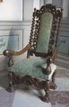 Länstol, 1600-talets sista hälft - Skoklosters slott - 103765.tif