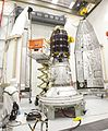 LADEE Encapsulated in the Fairing (9674482640).jpg