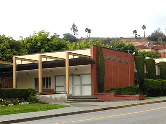 Cathedral High School (Los Angeles) - Cathedral High School entrance