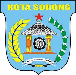Sorong (city) - Image: LOGO KOTA SORONG