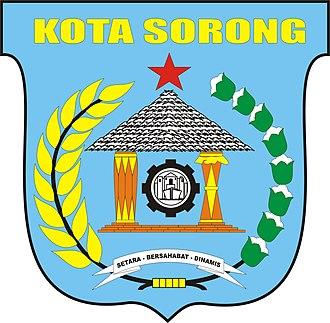 Sorong - Image: LOGO KOTA SORONG