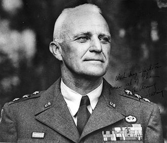 11th Airborne Division (United States) - Lieutenant General Joseph M. Swing, commander of the 11th Airborne Division during World War II.