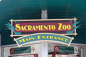 Sacramento Zoo - Image: LWB Sacramento Zoo