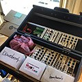 LZX Visionary video synthesizer, stored in the folding chassis - No pleasure without pain (of hauling gear). So excited to project #hentai tickled with #analog wiggles at IOCHIP in NYC 2mowwonite! (2013-09-06 by j bizzie).jpg