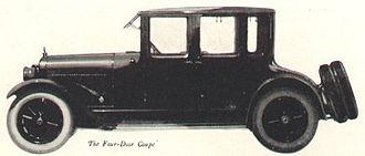 LaFayette Motors - LaFayette Four-Door Coupe, 1921