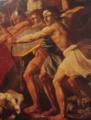 La Bataille des Israëlites contre les Amalécites (détails), Nicolas Poussin, 1623-1626, Ermitage, Moscou.png