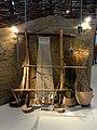 La Chaussée-Tirancourt (80), parc Samara, pavillon d'exposition - un métier à tisser au néolithique.jpg